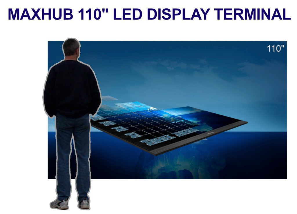 MAXHUB LED WALL 110 Inches